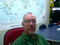 Prof. Carlão preparando aula